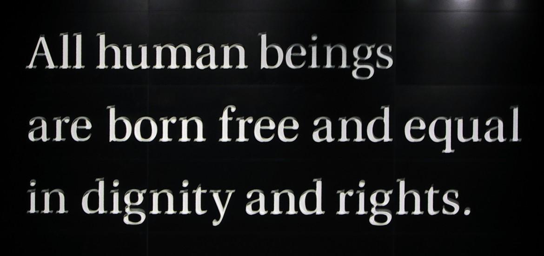 Der Tag der internationalen Menschenrechte