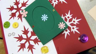 Bastelideen Weihnachtskarte