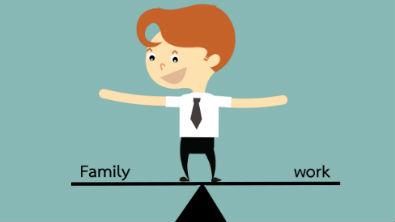 Vereinbarkeit von Familie und Beruf iStock @Chanisorn