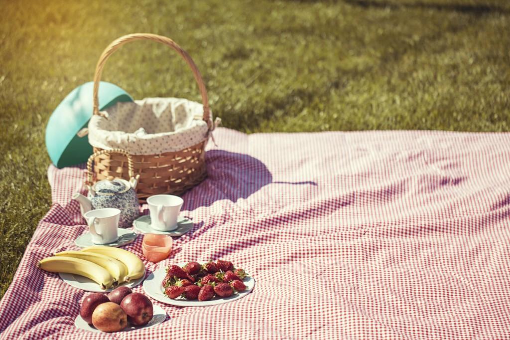 Tolle Frühlingsaktivitäten - Picknicken