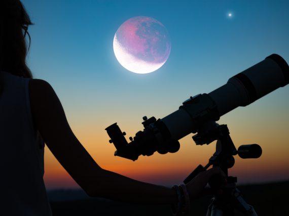 Mondfinsternis 2019 – Superblutmond über Deutschland
