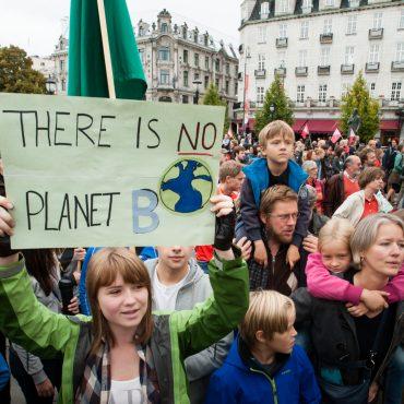 Schulstreik für Klimaschutz