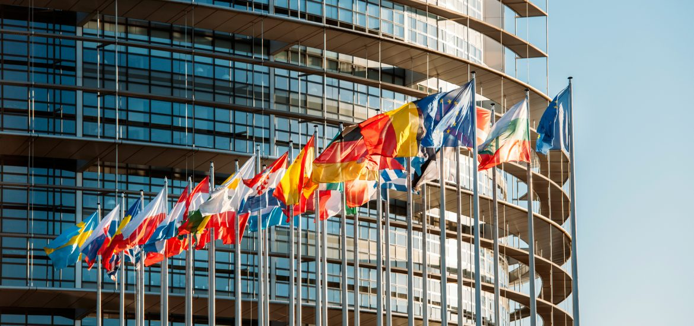 Europawahl Flaggen