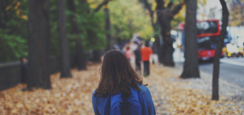 Den Schulweg alleine gehen