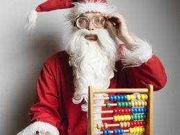 Weihnachtliche Matheübungen für Schulkinder